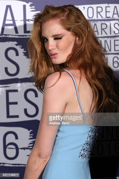 Model Alexina Graham attends the L'Oreal Party during the annual 69th Cannes Film Festival at on May 18 2016 in Cannes France