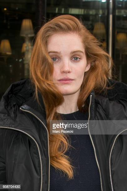 Model Alexina Graham is seen on March 27 2018 in Paris France