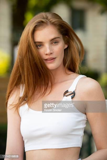 Model Alexina Graham on July 03 2019 in Paris France