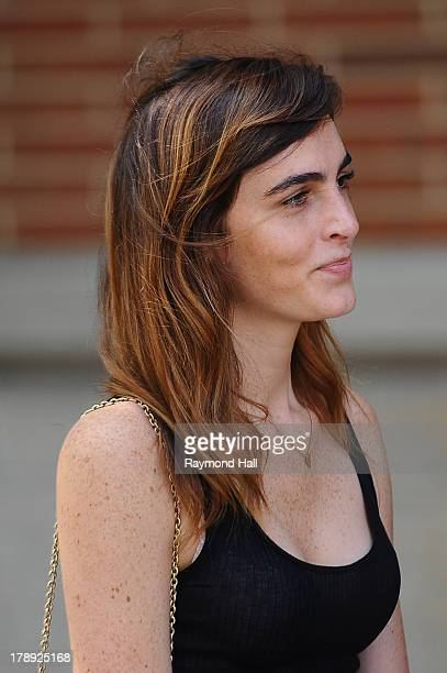 Model Ali Lohan is seen in Soho on August 30 2013 in New York City