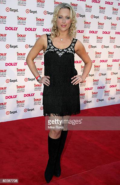 Model Ali Mutch arrives for the third annual Dolly Teen Choice Awards at Luna Park on August 13 2008 in Sydney Australia