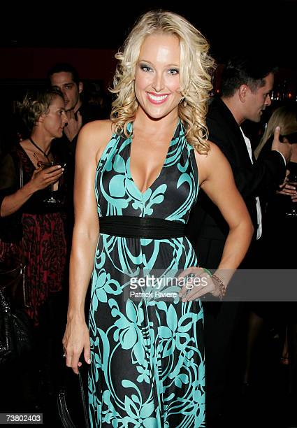 Model Ali Mutch attends Women of the World coffee table book launch of Camilla Franks at Travel to Kobe Jones on April 4 2007 in Sydney AustraliaThe...