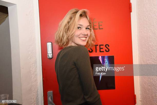 Model Alice Aufray attends 'Attachiante' Chanez Concert and Birthday Party at Sentier des Halles Club on May 2 2017 in Paris France