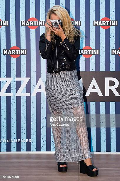 Model Alice Dellal arrives at Terrazza MARTINI as she is announced as the Official MARTINI Race Photographer for the 2016 Season The VIP party kicked...
