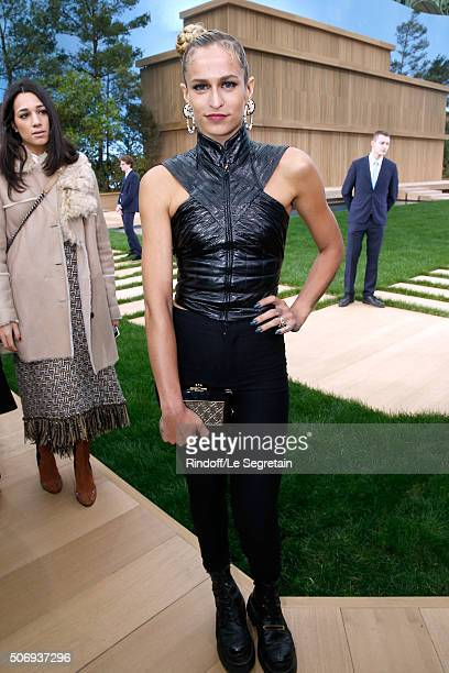 Model Alice Dellal attends the Chanel Spring Summer 2016 show as part of Paris Fashion Week on January 26 2016 in Paris France