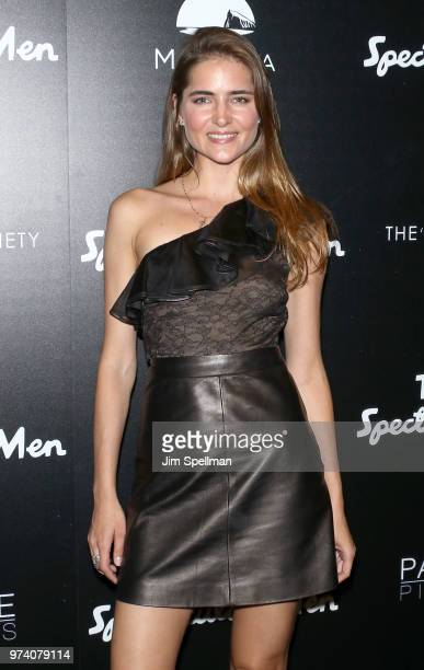 Model Aliena Avramenko attends the screening of 'The Year Of Spectacular Men' hosted by MarVista Entertainment and Parkside Pictures with The Cinema...
