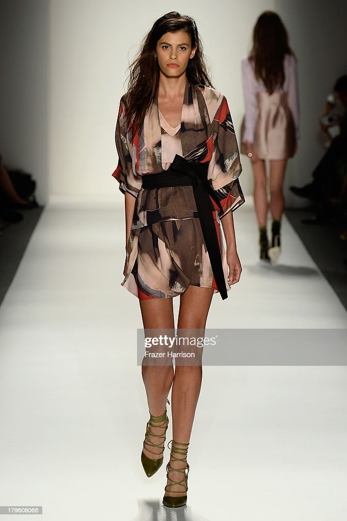 Model Alisar Ailabouni walks the runway during the Marissa Webb Spring 2014 fashion show at Mercedes-Benz Fashion Week Spring 2014 - Official Coverage - Best Of Runway Day 1 on September 5, 2013 in New York City.