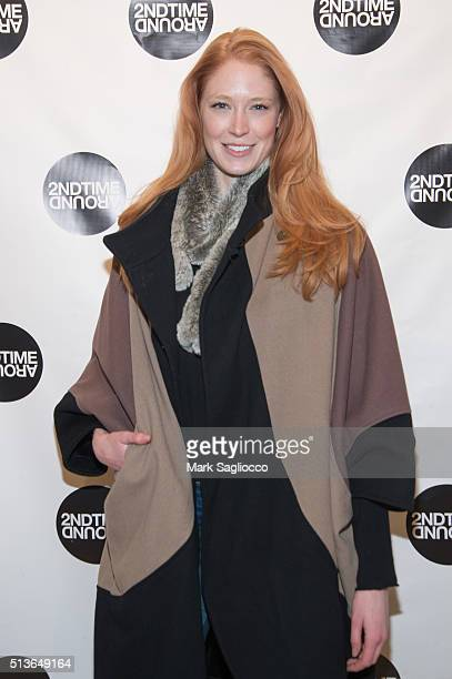 Model Alise Shoemaker attends 2nd Time Around Presents Pardon Our French at 2nd Time Around on March 3 2016 in New York City