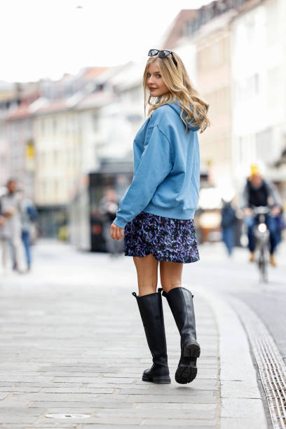 DEU: Street Style In Wuerzburg - April 3, 2021
