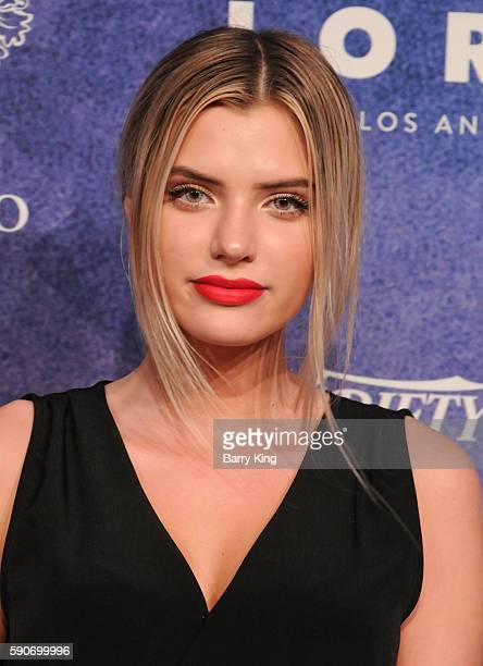 Model Alissa Violet attends Variety's Power of Young Hollywood event presented by Pixhug with Platinum Sponsor Vince Camuto at NeueHouse Hollywood on...