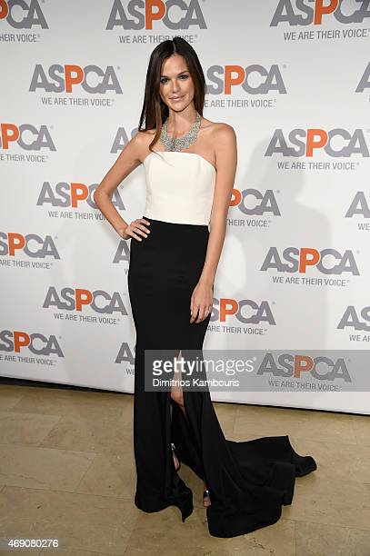 Model Allie Rizzo attends ASPCA'S 18th Annual Bergh Ball honoring Edie Falco and Hilary Swank at The Plaza Hotel on April 9 2015 in New York City