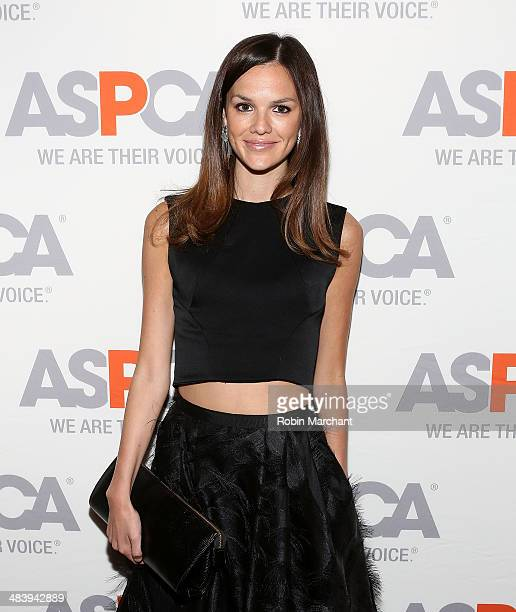 Model Allie Rizzo attends ASPCA's Annual Bergh Ball Gala at The Plaza Hotel on April 10 2014 in New York City