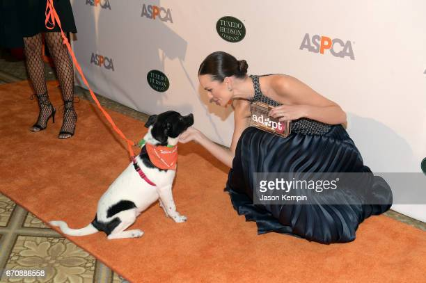 Model Allie Rizzo attends the ASPCA hosted 20th Annual Bergh Ball at The Plaza Hotel on April 20 2017 in New York City