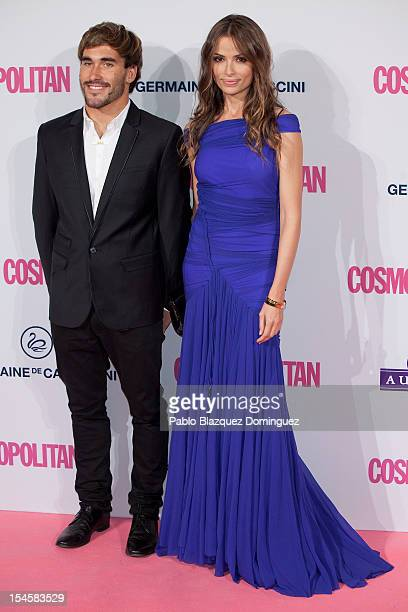 Model Almudena Fernandez and guest attend Cosmopolitan Fun Fearless Awards 2012 at Ritz Hotel on October 22 2012 in Madrid Spain