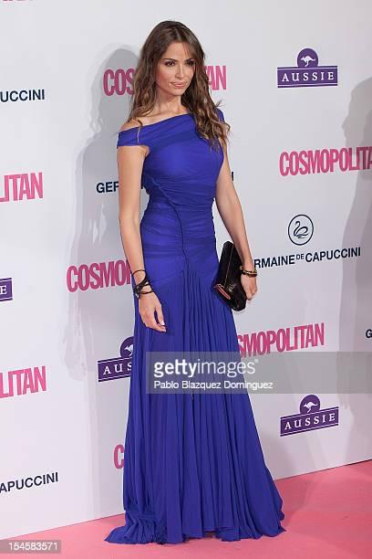 Model Almudena Fernandez attends Cosmopolitan Fun Fearless Awards 2012 at Ritz Hotel on October 22 2012 in Madrid Spain