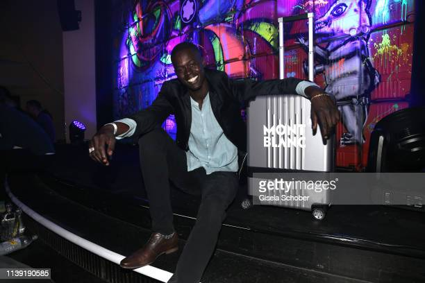 """Model Alpha Dia attends the """"To Berlin and Beyond with Montblanc: Reconnect To The World"""" launch event at Metropol Theater on April 24, 2019 in..."""