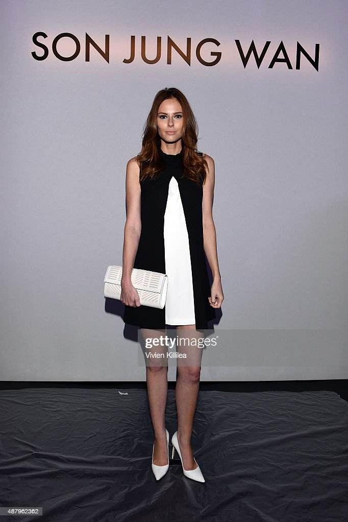 Son Jung Wan - Front Row - Spring 2016 New York Fashion Week: The Shows