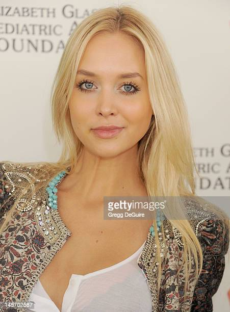 Model Amalie Ny Wichmann arrives at Elizabeth Glaser Pediatric AIDS Foundation's 23rd Annual A Time For Heroes Celebrity Picnic at Wadsworth Theater...