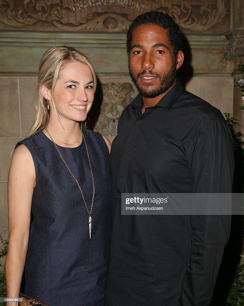 Model Amanda Hearst and Maison de Mode founder Hassan Pierre ...