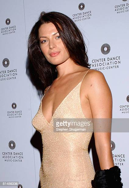 Model Amanda Tosch attends the New York City Ballet Gala at the Dorothy Chandler Pavilion on October 8 2004 in Los Angeles California