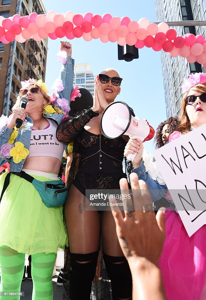 Amber Rose SlutWalk 2016 : News Photo