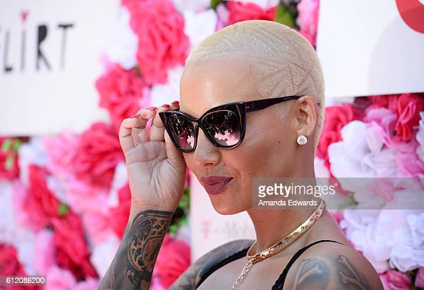 Model Amber Rose attends the Amber Rose SlutWalk 2016 at Pershing Square on October 1 2016 in Los Angeles California