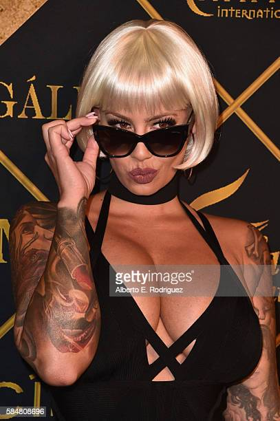 Model Amber Rose attends the Maxim Hot 100 Party at the Hollywood Palladium on July 30, 2016 in Los Angeles, California.