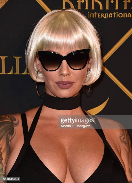 Model Amber Rose attends the Maxim Hot 100 Party at the Hollywood Palladium on July 30 2016 in Los Angeles California