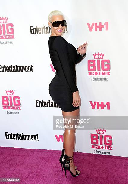Model Amber Rose attends VH1 Big in 2015 With Entertainment Weekly Awards at Pacific Design Center on November 15 2015 in West Hollywood California