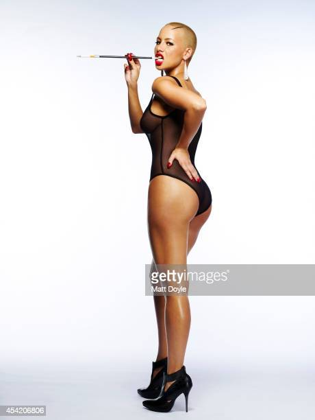 Model Amber Rose is photographed for Complex Magazine on May 21 in New York PUBLISHED IMAGE
