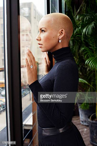 Model Amber Rose is photographed for StyleCaster on November 29 2011 in New York City PUBLISHED IMAGE