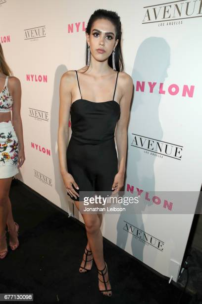 Model Amelia Gray Hamlin at the NYLON Young Hollywood Party at AVENUE Los Angeles on May 2 2017 in Los Angeles California