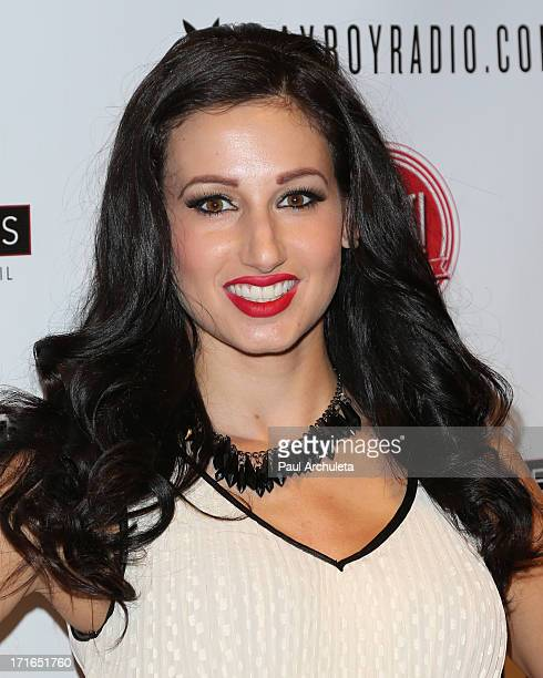 Model Amie Nicole attends the Birthday Party for Playboy Radio and TV Personality Jessica Hall at Sweet Candy store on June 26 2013 in Hollywood...