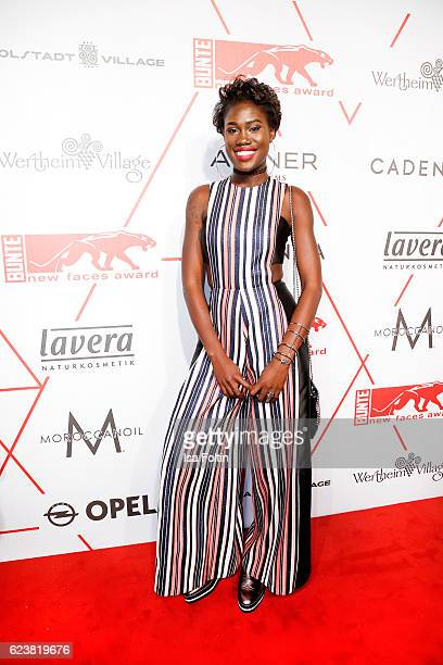 Model Aminata Sanogo attends New Faces Award Style on November 16 2016 in Berlin Germany