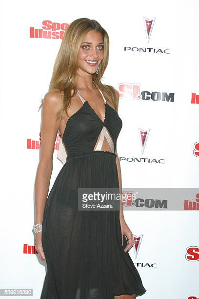 Model Ana Beatriz Barros at 2005 Sports Illustrated Swimsuit Issue Press Conference