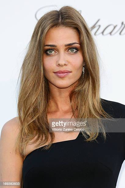 Model Ana Beatriz Barros attends amfAR's 20th Annual Cinema Against AIDS during The 66th Annual Cannes Film Festival at Hotel du CapEdenRoc on May 23...