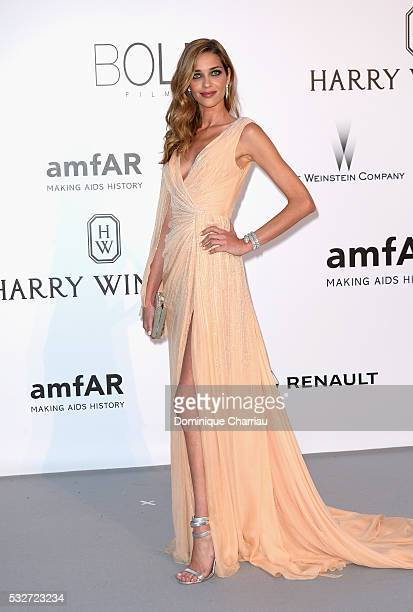 Model Ana Beatriz Barros attends the amfAR's 23rd Cinema Against AIDS Gala at Hotel du CapEdenRoc on May 19 2016 in Cap d'Antibes France
