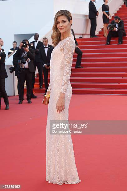 Model Ana Beatriz Barros attends the 'Inside Out' Premiere during the 68th annual Cannes Film Festival on May 18 2015 in Cannes France