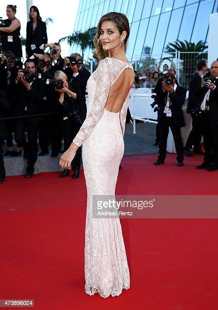 Model Ana Beatriz Barros attends the Premiere of Inside Out during the 68th annual Cannes Film Festival on May 18 2015 in Cannes France