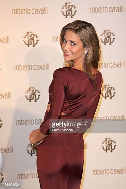 Model Ana Beatriz Barros attends the private dinner on 'Cavalli' yacht photocall on May 18 2011 in Cannes France