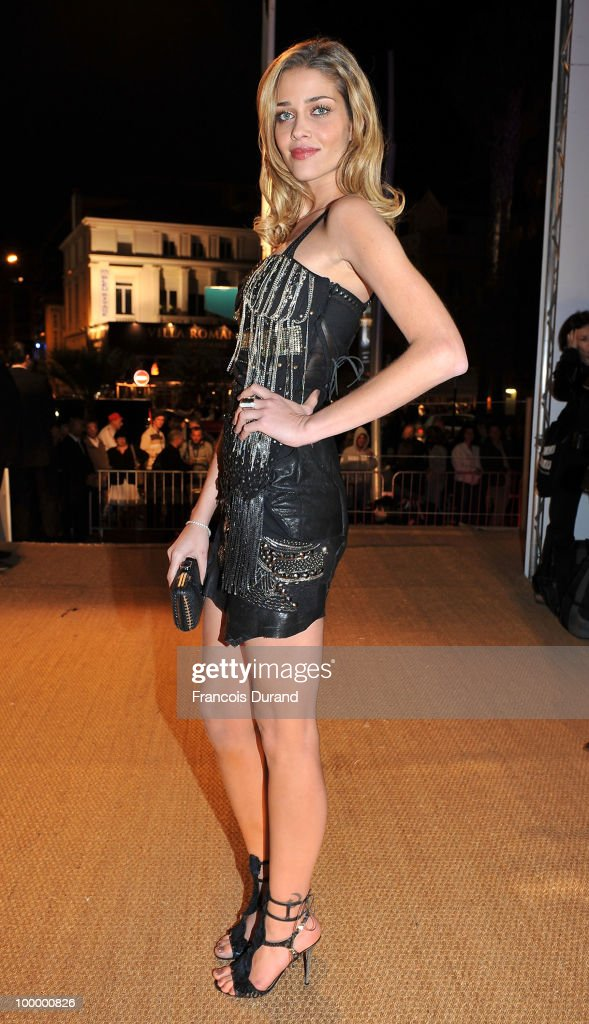 Model Ana Beatriz Barros attends the Replay Party during the 63rd Annual Cannes Film Festival at the Star Style Lounge on May 19, 2010 in Cannes, France.