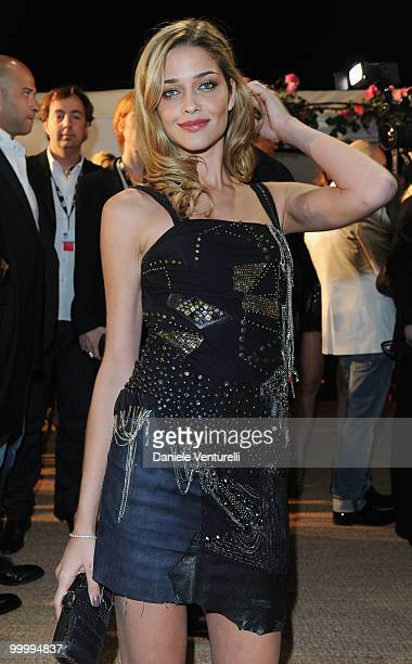 Model Ana Beatriz Barros attends the Replay Party held at the Star Style Lounge during the 63rd Annual International Cannes Film Festival on May 19...