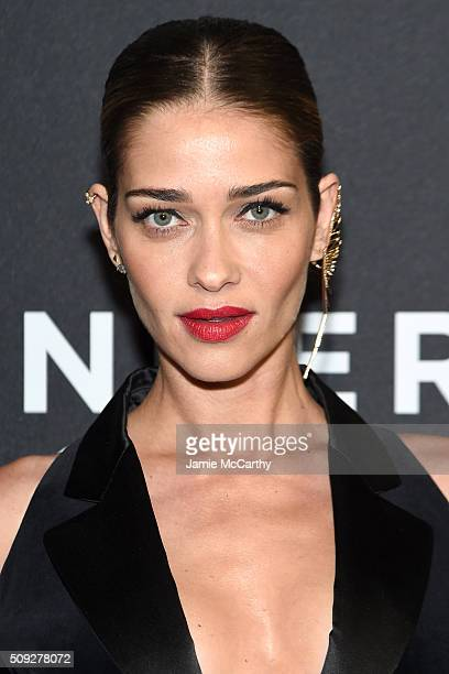 Model Ana Beatriz Barros attends the Zoolander 2 World Premiere at Alice Tully Hall on February 9 2016 in New York City
