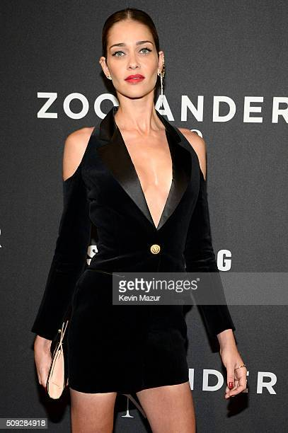 Model Ana Beatriz Barros attends the 'Zoolander 2' World Premiere at Alice Tully Hall on February 9 2016 in New York City