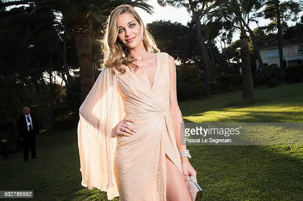 Model Ana Beatriz Barros poses for photographs at the amfAR's 23rd Cinema Against AIDS Gala at Hotel du CapEdenRoc on May 19 2016 in Cap d'Antibes...