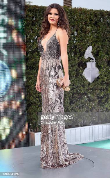 Model Ana Patricia Gonzalez arrives at the 13th annual Latin GRAMMY Awards held at the Mandalay Bay Events Center on November 15 2012 in Las Vegas...