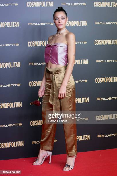 Model Ana Rujas attends the Cosmopolitan Awards 2018 at Florida Park on October 18 2018 in Madrid Spain