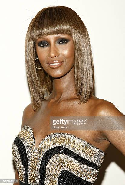 Model and activist Iman attends the 3rd Annual Black Girls Rock Awards at the Stanley H Kaplin Penthouse at Lincoln Center on November 2 2008 in New...