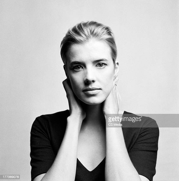 Model and actor Agyness Deyn is photograpehd on September 11 2012 in Toronto Ontario