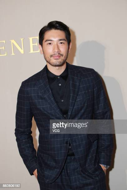 Model and actor Godfrey Gao attends the reopening of a Bottega Veneta flagship store on November 30 2017 in Hong Kong China